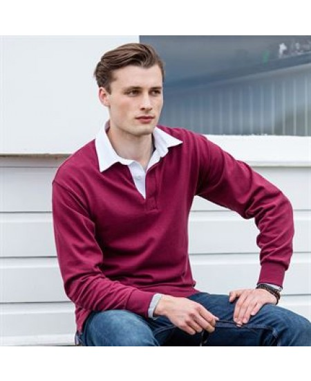 FR01M Long sleeve original rugby shirt