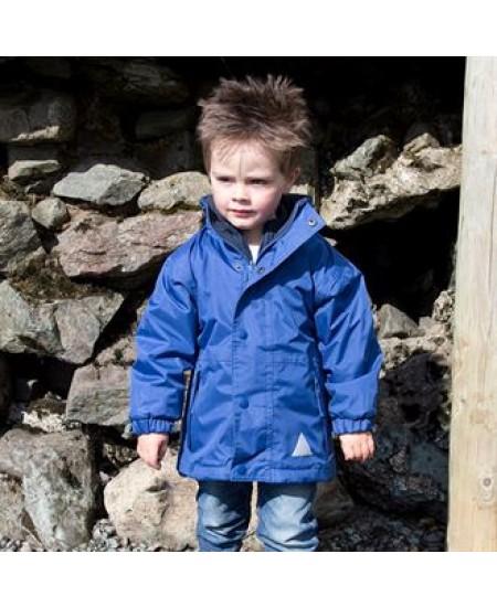 R160J Junior/youth reversible StormDri 4000 fleece jacket