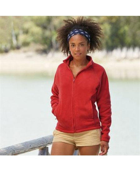 SS557 Lady-fit full-zip fleece