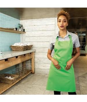 PR154 Colours bip apron with pocket