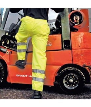 RE22X Safety hi-viz trousers