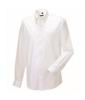 J932M Long sleeve Easycare Oxford shirt