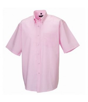 J933M Short sleeve easycare Oxford shirt