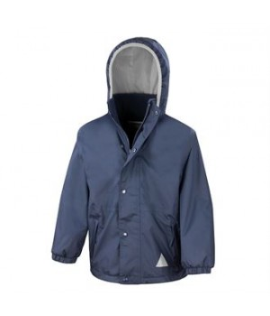 R160J Junior/youth reversible StormDri 4000 fleece jacket