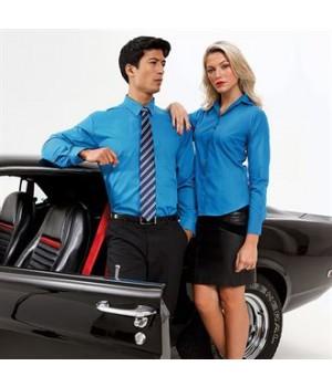 PR200 Long sleeve poplin shirt