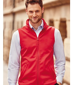041M Russell Mens Smart Softshell Gilet
