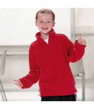 8740B Kids ¼ zip outdoor fleece