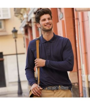 SS258 Premium long sleeve polo