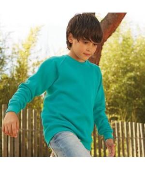 SS271 Classic 80/20 kids raglan sweatshirt