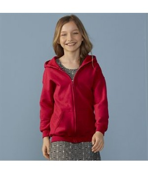GD58B Heavy Blend™ youth full-zip hooded