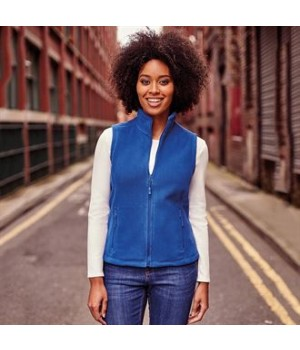 8720F Women's outdoor fleece gilet