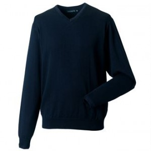 J710M V-neck knitted sweater